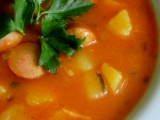 Frankfurtská jemná polévka recept