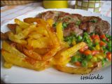 Steakové hranolky recept