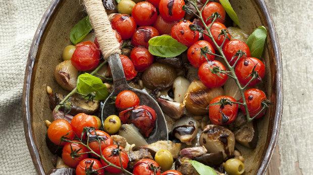 Zelenina pečená na sicilský způsob
