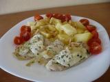 Filé s rajčátky a mozzarellou recept