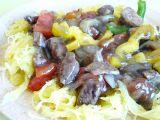 Špagetová dýně s masovo-zeleninovou omáčkou recept ...