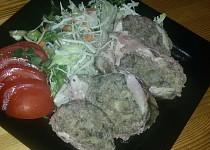 Kuřecí roláda (náplň na rozlítané ptáčky) recept