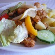 Hranolky z rybích filetů recept