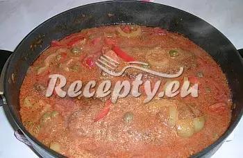 Roštěnky Esterházy recept  hovězí maso