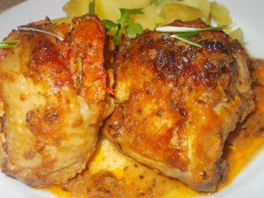 Ostré, grilované, kuřecí paličky a horní stehna, plněná pikantní ...