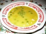 Dýňová polévka s hráškem recept