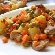 Vegetariánská pečená zelenina recept