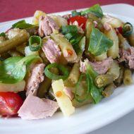 Míchaný salát s tuňákem recept