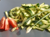 Čínský okurkový salát II. recept
