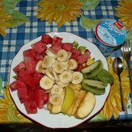 Ovocný salát s jogurtem recept