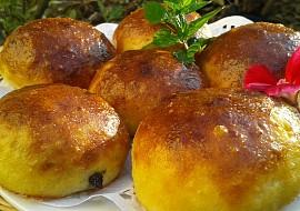 Bramborové kynuté koblihy smažené nebo pečené v troubě recept ...