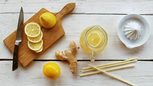 Zázvorová limonáda s medem