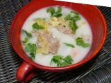 Polévka z vodnice s pohankovými vločkami recept