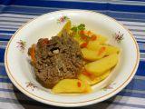 Vařený jehněčí krk v zelenině recept