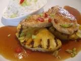Orientální kuřecí s grilovaným ananasem recept