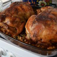 Pečené kuře s bylinkovou nádivkou recept