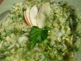 Salát z pekingského zelí, s jablkem a křenem recept