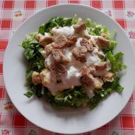 Caesar salát trochu jinak recept