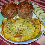 Vaječná omeleta se sýrem recept