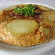 Bramborová placka se špenátem recept
