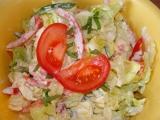 Hlávkový salát míchaný recept