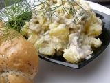 Slanečkovo bramborový salát s koprem recept