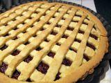 Mřížkový smetanový koláč recept