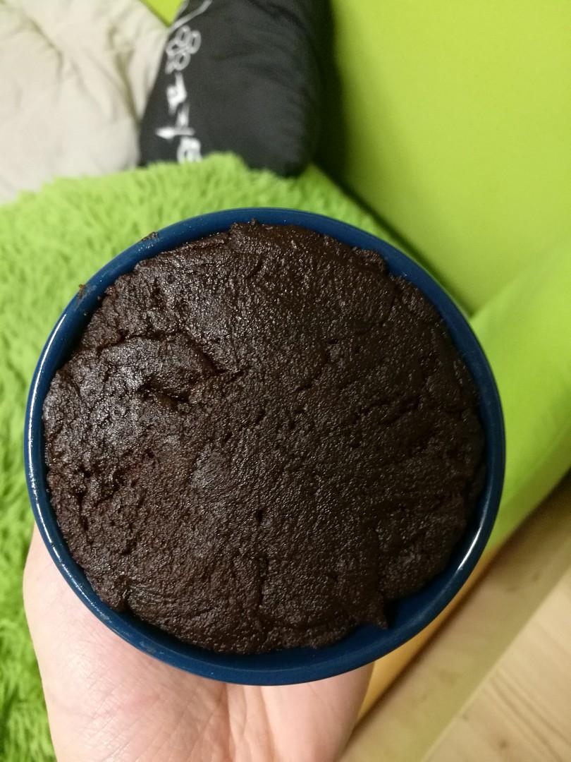 Brownies v hrnku recept