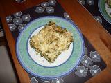 Těstoviny s kuřecím masem a špenátem recept