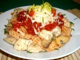 Slavnostní špagety recept
