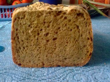 Česnekový chléb v pekárně