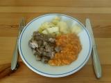 Dušená mrkev s vepřovým masem recept