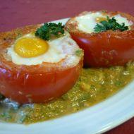 Rajčata zapečená s vejci recept