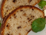 Oříškový bílkový chlebíček recept