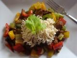 Krůtí maso v zelenině recept