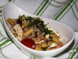Salát z fazolek, rajčat a tofu recept