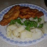 Pečené kuřecí řízky s česnekem recept