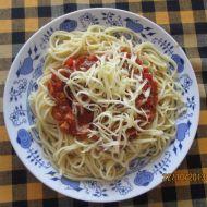Rychlá směs na špagety recept