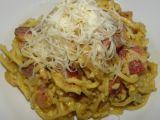 Špagety s uzeným a sýrem recept
