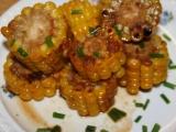Máslová kukuřice na medu recept