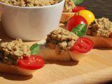 Lilková pomazánka s hermelínem recept