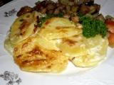 Gratinované brambory z Francie recept