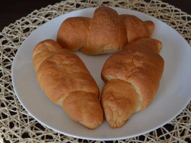 Špaldové rohlíky z domácí pekárny
