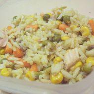 Zeleninové rizoto s kuřecím recept