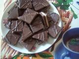 Kostky z koka sušenek recept
