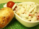 Zeleninový salát se sýrem a smetanovou zálivkou recept ...