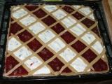 Mřížkový koláč recept
