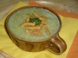 Brokolicová s cizrnovými nudlemi recept