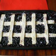 Mřížkový koláč s ovocem recept