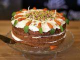 Mrkvový dort s kokosovým krémem recept